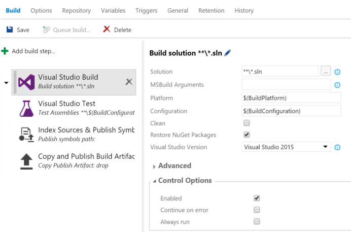 Mimic the XAML build's Output Location option in Build 2015