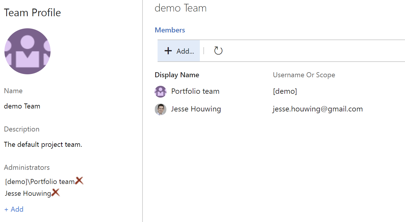 Make a Group Team Administrator in VSTS/TFS