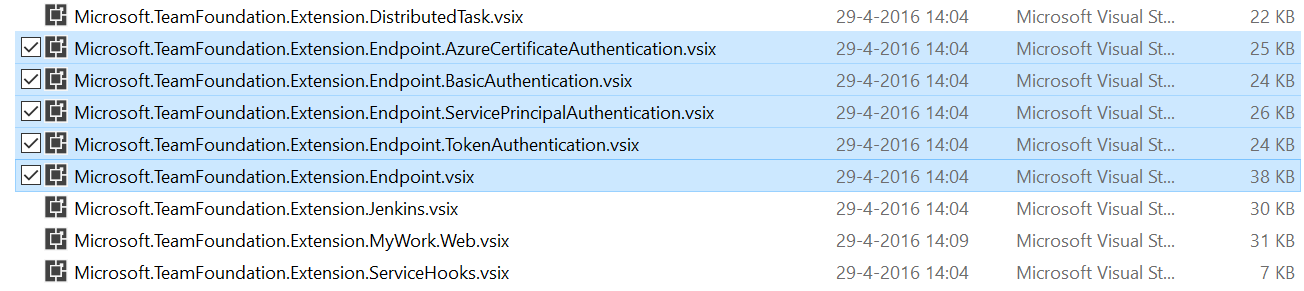 Define a custom Authentication Scheme for your VSTS extension
