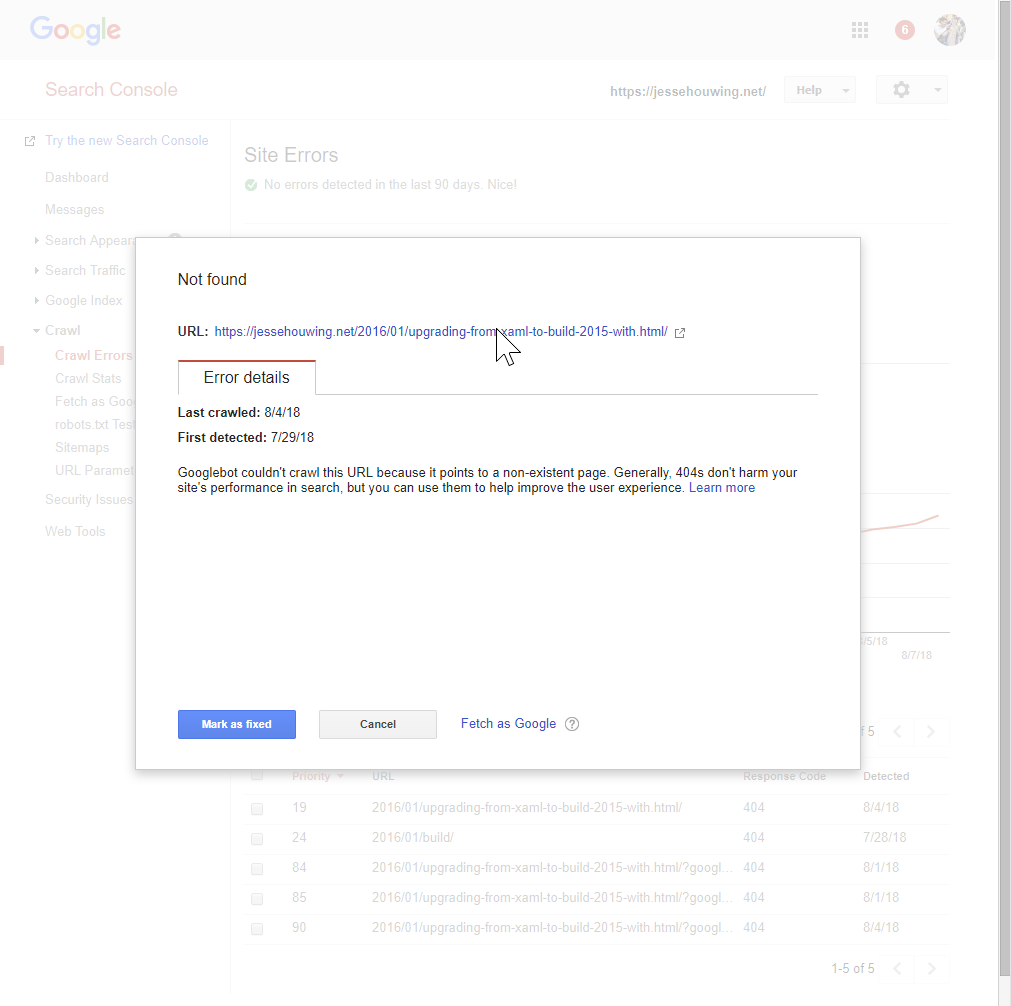 Use Google Search Console to optimize your Ghost blog