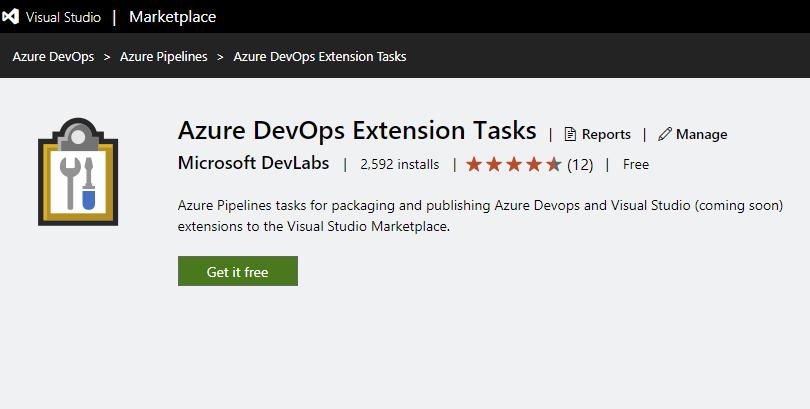 Azure DevOps Extension Tasks 1 2 3x
