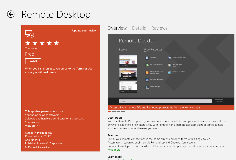 Windows 8 - Remote desktop tips and tricks