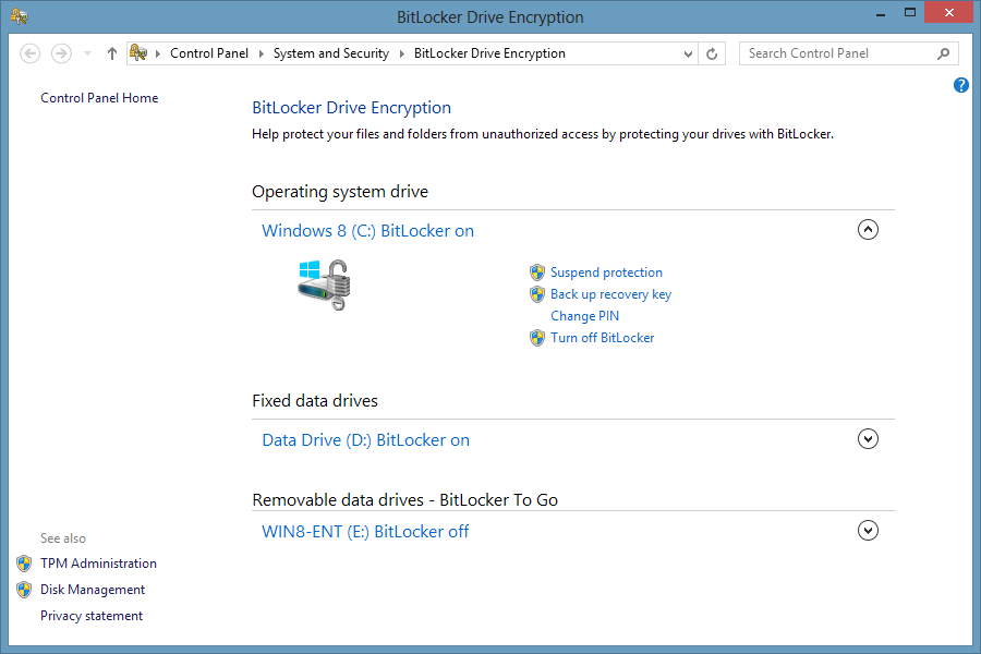 Backing up your BitLocker keys to Active Directory