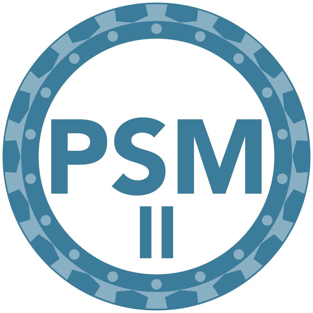Training - Professional Scrum Master II
