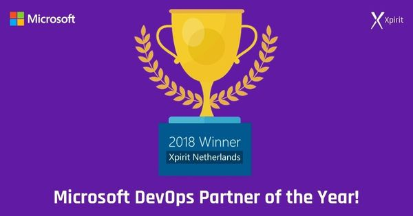 Xpirit awarded Microsoft Global DevOps Partner of the year 2018